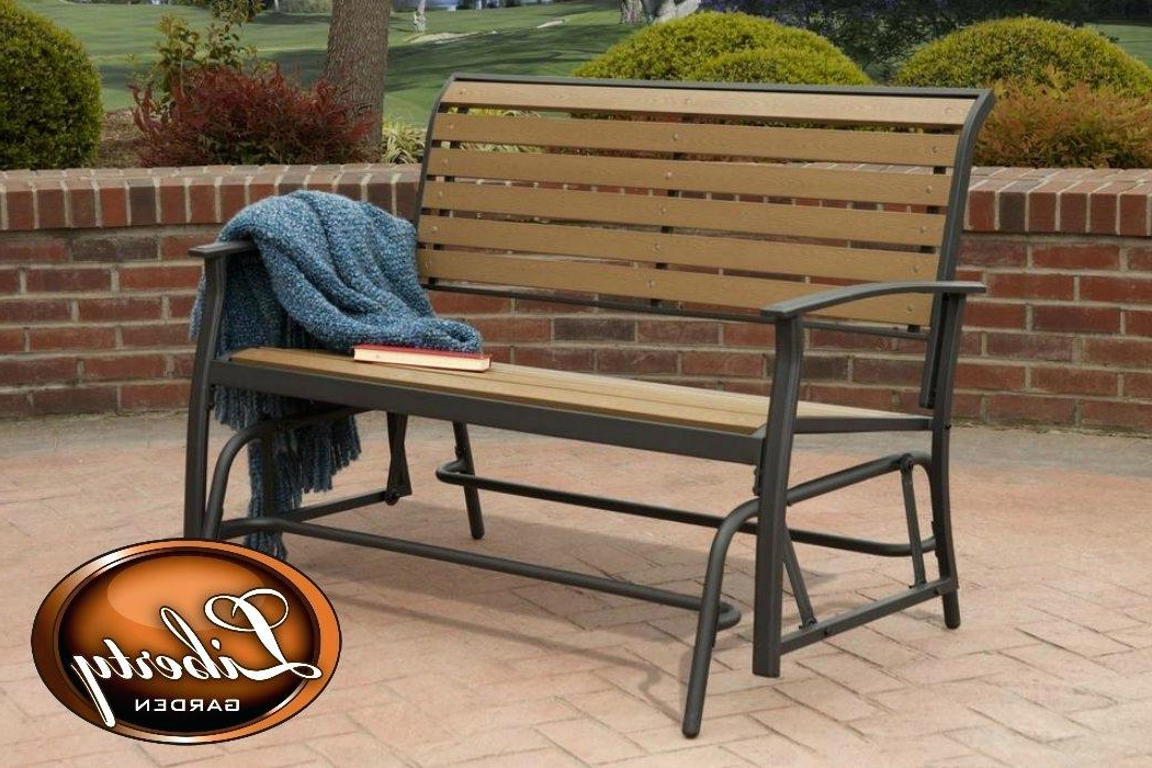 Preferred Outdoor Double Glider – Techvay Inside Speckled Glider Benches (View 10 of 20)