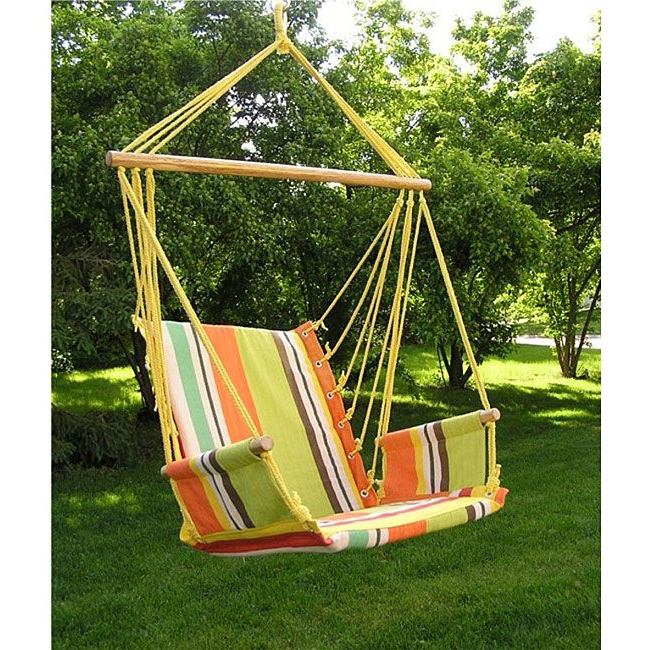 Pretty Cool Regarding Widely Used Cotton Porch Swings (View 17 of 20)