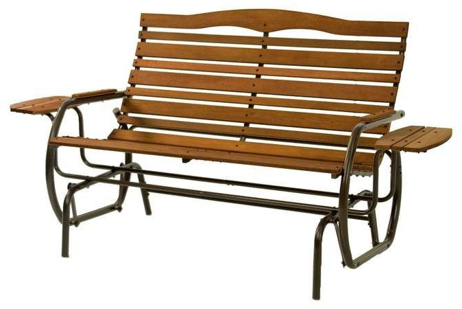 Products In 2019 In Trendy Iron Grove Slatted Glider Benches (Gallery 3 of 20)