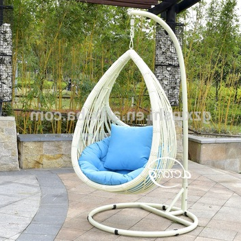 Rattan Garden Swing Chairs For Trendy Pe Rattan Garden Hanging Egg Chair Cheap Price Patio Leaf Design Outdoor Swing Chair – Buy Wicker Hanging Swing Chair,cheap Wicker Rattan Chair (Gallery 2 of 20)