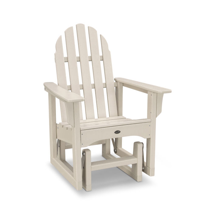 Recent Cape Cod Adirondack Glider Chair – Txadsgl With Classic Adirondack Glider Benches (View 12 of 20)