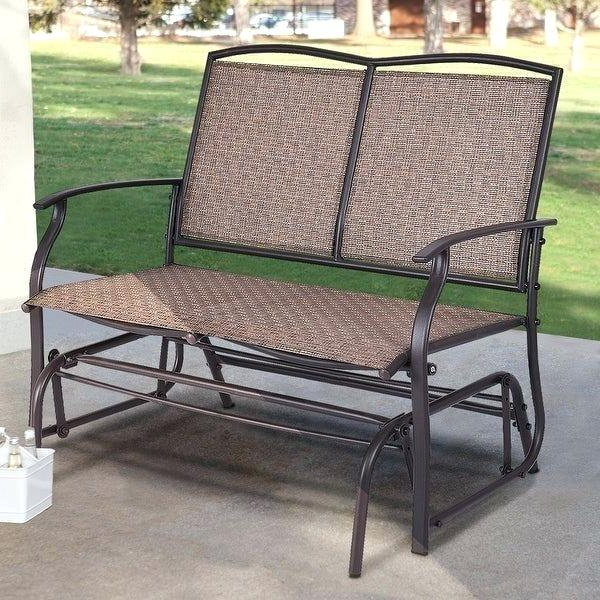 Recent Outdoor Double Glider Rocker Plans Patio G – Techvay Regarding Padded Sling Double Gliders (View 16 of 20)