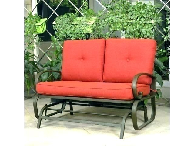 Retro Glider – Debtfreeme.co With Famous Outdoor Loveseat Gliders With Cushion (Gallery 19 of 20)