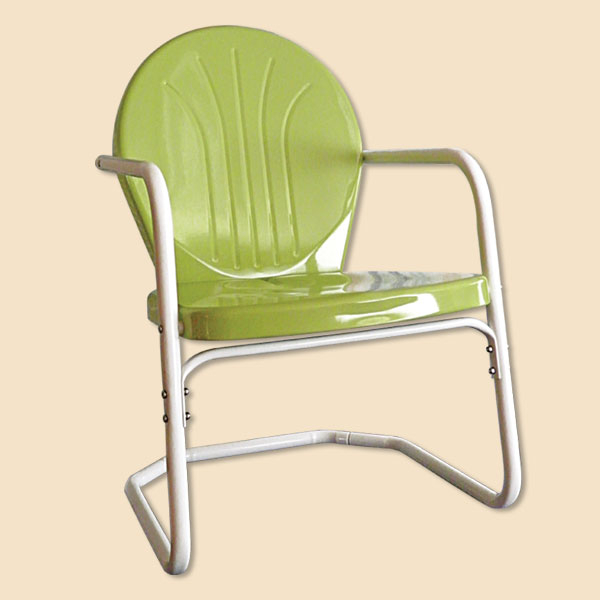 Retro Lawn Chairs – 1950s Lawn Chairs With Well Known Outdoor Retro Metal Double Glider Benches (View 11 of 20)