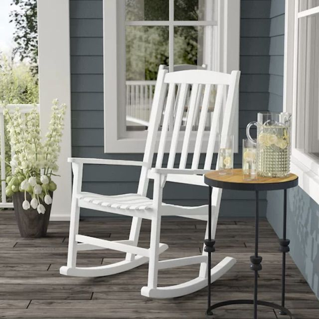 Rocking Love Seats Glider Swing Benches With Sturdy Frame Intended For Most Current The 7 Best Rocking Chairs Of  (View 17 of 20)