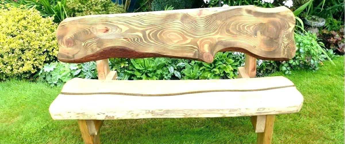 Rustic Wooden Benches Outdoor – Swingspy (View 14 of 20)
