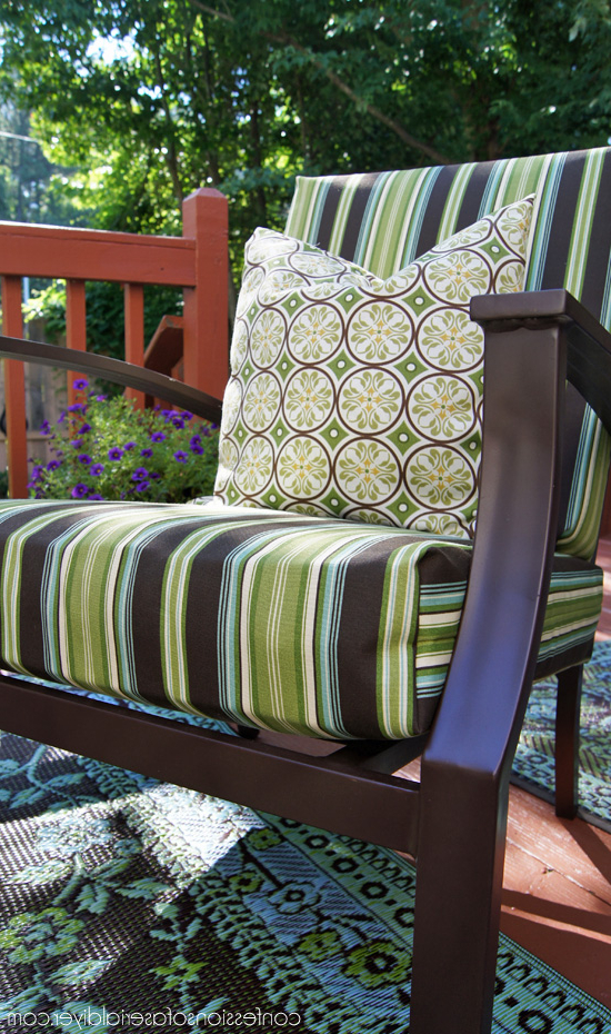 Sew Easy Outdoor Cushion Covers (part 1) (View 18 of 20)