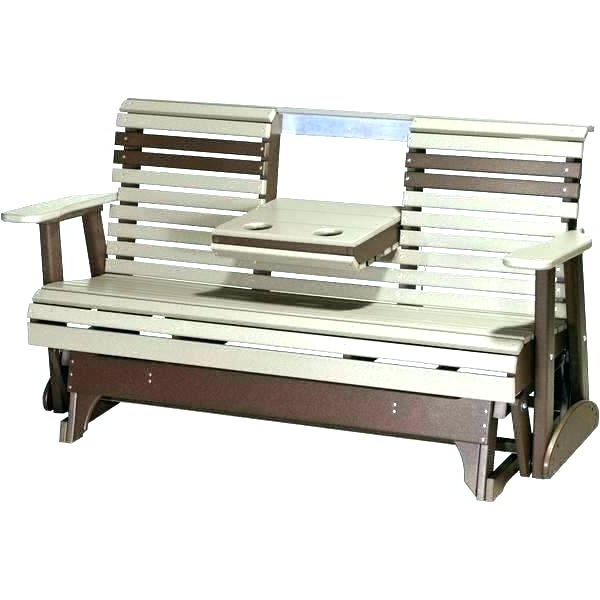 Steel Patio Swing Glider Benches Intended For Well Known Patio Glider Swing Jewels Outdoor Patio Swing Glider Bench (Gallery 17 of 20)