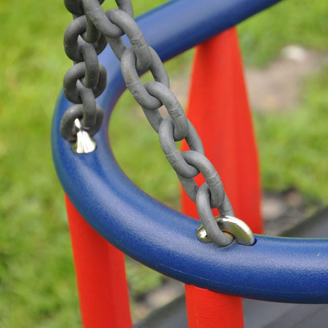 Swing Seats With Chains With Well Liked Traditional Swing Chains In 8Mm Short Pattern Steel Chain With Three Large  Connecting Links To Suit Flat Or Cradle Seats (View 13 of 20)
