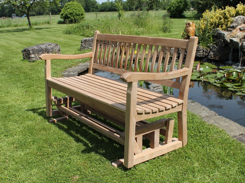 Featured Photo of Teak Glider Benches