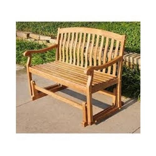 Teak Outdoor Glider Bench Wooden Garden And Similar Items With Recent Teak Outdoor Glider Benches (View 9 of 20)
