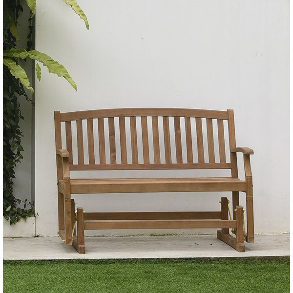 Teak Outdoor Glider Benches With Recent You'll Love The Summerton Teak Glider Bench At Wayfair (View 6 of 20)