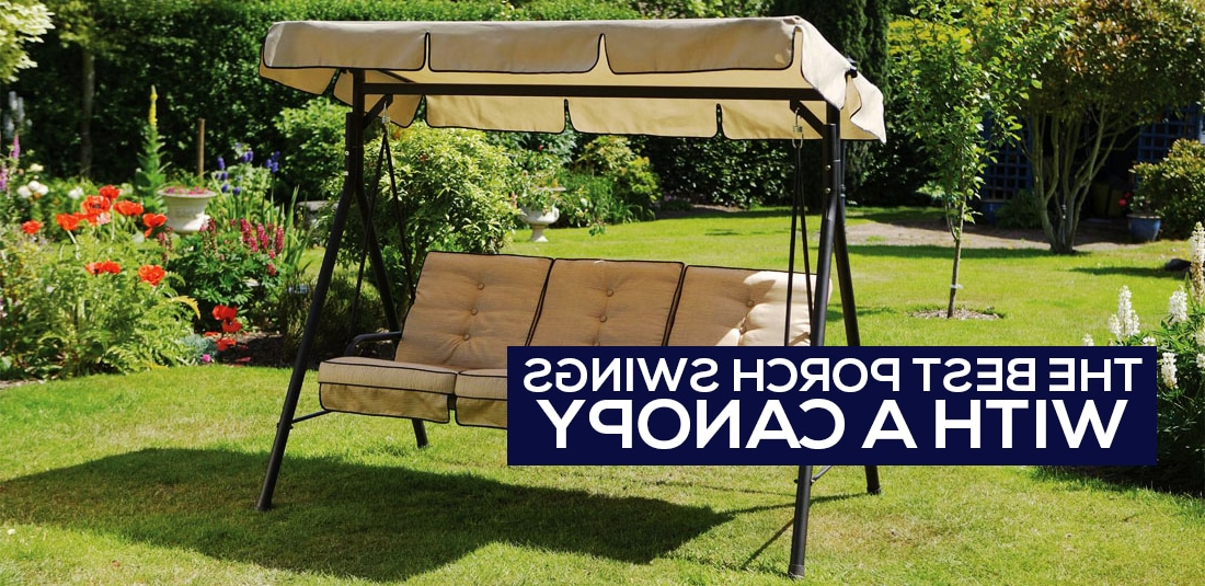 [%the 5 Best Porch Swings With Canopy [canopy Garden Swing Within Widely Used Canopy Patio Porch Swings With Pillows And Cup Holders|canopy Patio Porch Swings With Pillows And Cup Holders Inside Popular The 5 Best Porch Swings With Canopy [canopy Garden Swing|2020 Canopy Patio Porch Swings With Pillows And Cup Holders Regarding The 5 Best Porch Swings With Canopy [canopy Garden Swing|current The 5 Best Porch Swings With Canopy [canopy Garden Swing With Regard To Canopy Patio Porch Swings With Pillows And Cup Holders%] (View 11 of 20)