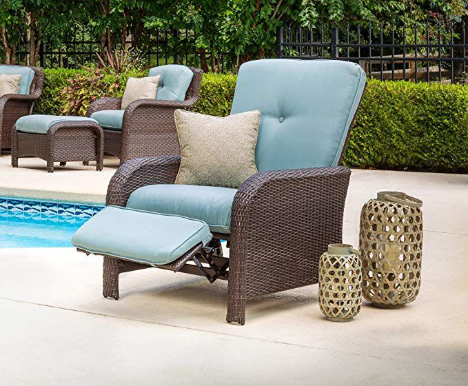 The 8 Best Outdoor Recliners Of 2020 With Regard To Preferred Rocking Love Seats Glider Swing Benches With Sturdy Frame (View 15 of 20)