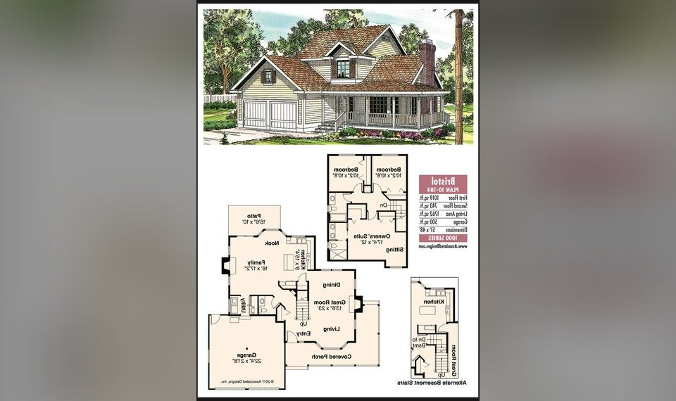 The Oklahoman's House Plan For June 10, 2017: The Bristol With Regard To Famous Bristol Porch Swings (View 9 of 20)
