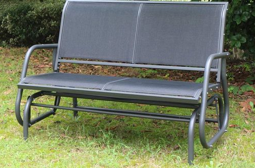 Top 10 In Most Up To Date Outdoor Patio Swing Glider Benches (View 3 of 20)