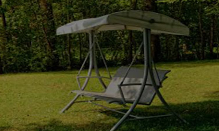 Top 11 Best Patio Swings With Canopy Reviews In 2020 With Famous 3 Person Red With Brown Powder Coated Frame Steel Outdoor Swings (View 16 of 20)