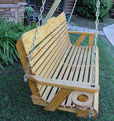 Top 24 For Best Porch Swing Cup Holder 2019 In Recent 5 Ft Cedar Swings With Springs (View 14 of 20)