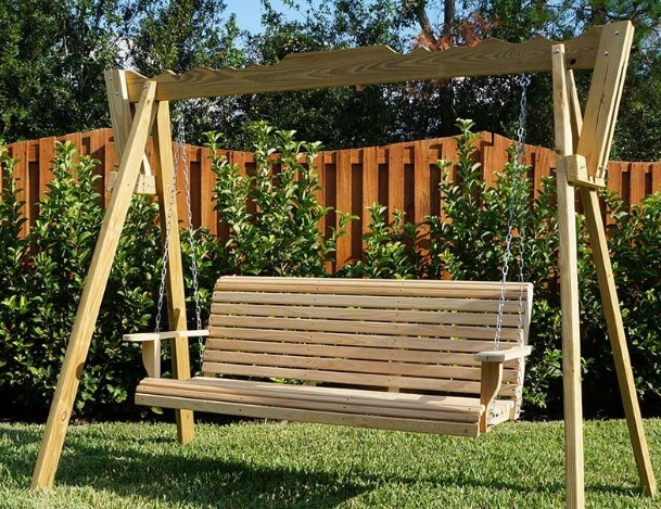 Trendy Outdoor Porch Swings For Best Porch Swings Reviews (45+ Outdoor Swings) (View 16 of 20)