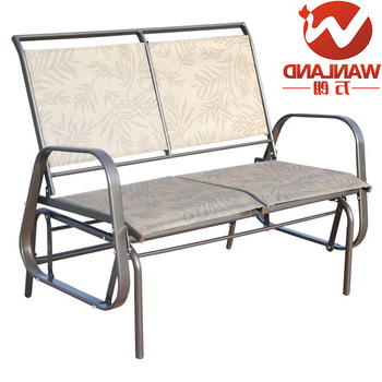 Trendy Outdoor Steel Patio Swing Glider Benches With Outdoor Loveseat Glider Bench Rocking Chair,patio Porch Swing – Buy Glider Bench,glider Rocking Chair,glider Rocker Product On Alibaba (View 7 of 20)