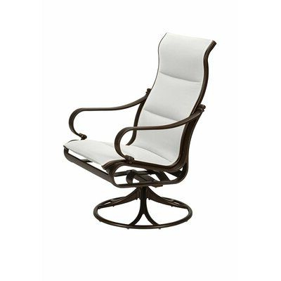 Featured Photo of Padded Sling High Back Swivel Chairs
