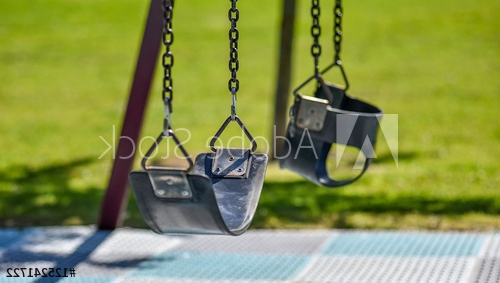 Two Children's Swing Seats Hangingchains In An Inner Inside Preferred Swing Seats With Chains (View 15 of 20)