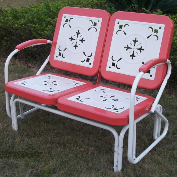 Wayfair With Regard To Metal Retro Glider Benches (View 19 of 20)
