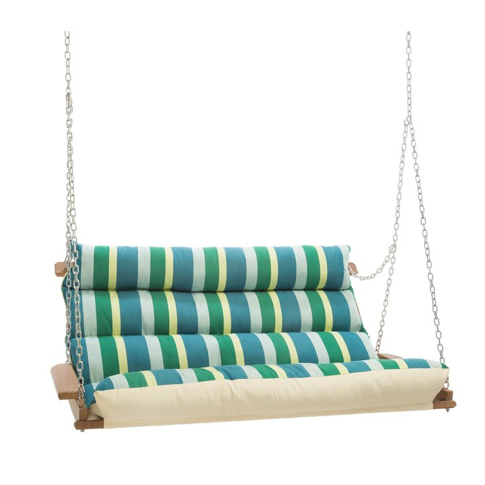 Well Known Deluxe Cushion Sunbrella Porch Swings With Pacheco Deluxe Sunbrella Porch Swing (View 3 of 20)