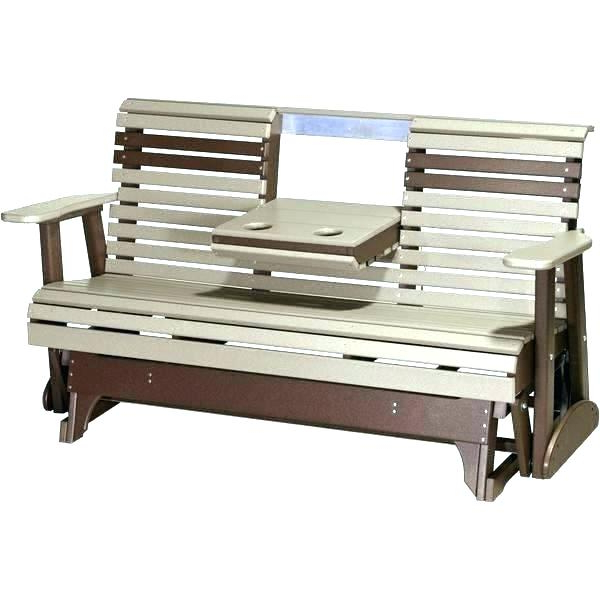 Well Known Glider Benches With Cushions Inside Patio Glider Cushions – Sigpot (View 13 of 20)