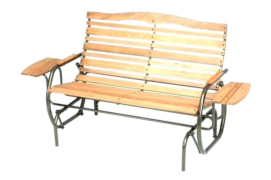 Well Known Hardwood Porch Glider Benches Throughout Porch Bench Glider – Detkam (View 15 of 20)