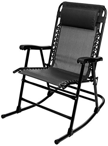 Well Known Outdoor Furniture yacht Club 2 Person Recycled Plastic Outdoor Swings Regarding Amazonbasics Foldable Chair (View 12 of 20)