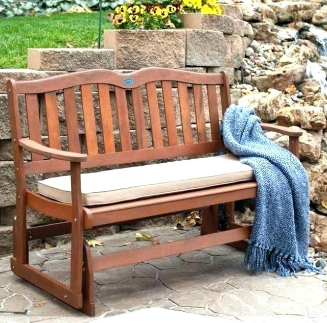 Well Known Outdoor Patio Swing Glider Bench Chairs For Outdoor Patio Glider – Tbhaxor (View 18 of 20)