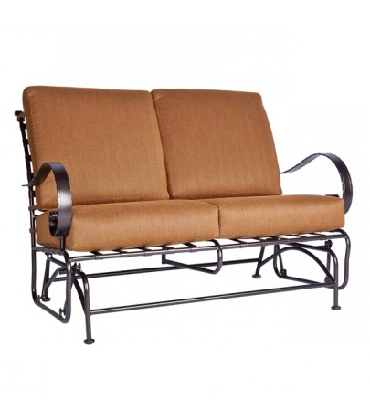 Well Known Ow Lee Classico Double Glider With Regard To Metal Powder Coat Double Seat Glider Benches (View 15 of 20)