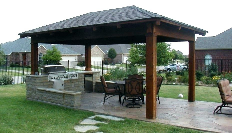 Well Known Patio Gazebo Porch Canopy Swings Intended For Pool Gazebo Ideas – Sunrise Riverside (View 18 of 20)