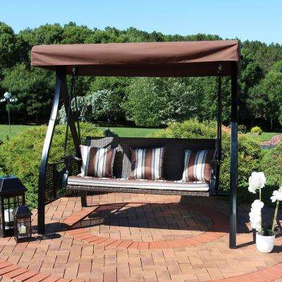 Well Known Porch Swings With Stand Throughout Porch Swing – Stand Included – Porch Swings – Patio Chairs (View 19 of 20)