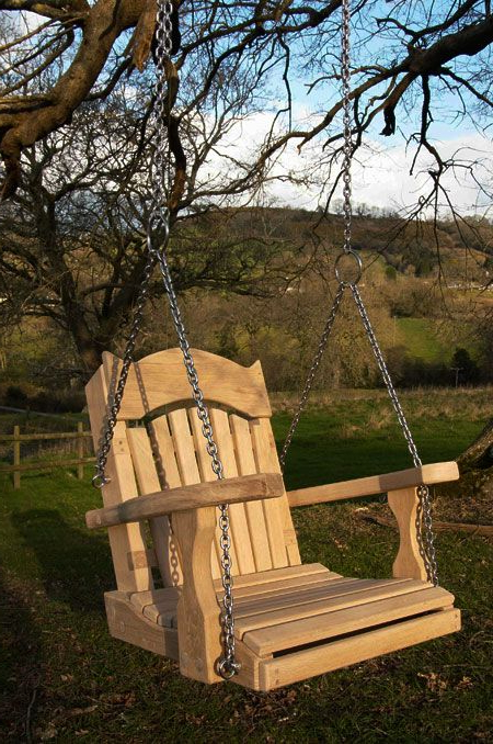 Well Known Single Garden Swing Seats For Treeslooking At The How To With Regard To Swing Seats With Chains (View 16 of 20)