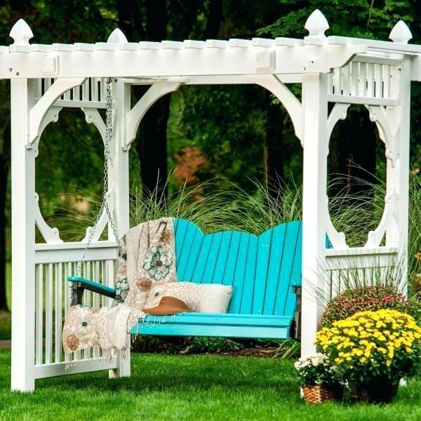 Well Liked Pergola Porch Swings With Stand Intended For Porch Swing Arbor – Batuakik (View 19 of 20)