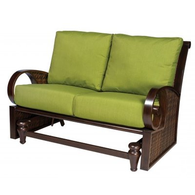 Featured Photo of Loveseat Glider Benches With Cushions