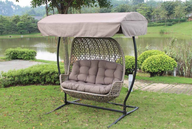 Widely Used Best Porch Swings Reviews (45+ Outdoor Swings) 2020 For Patio Loveseat Canopy Hammock Porch Swings With Stand (View 16 of 20)