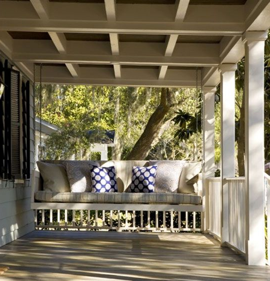 Widely Used Classic Porch Swings In Ceiling – Frederick + Frederick Architects Classic Luxury (View 2 of 20)