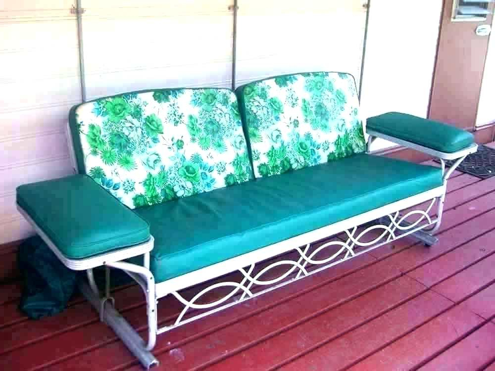 Widely Used Metal Retro Glider Benches Pertaining To Metal Glider Patio Furniture – Salud (View 20 of 20)