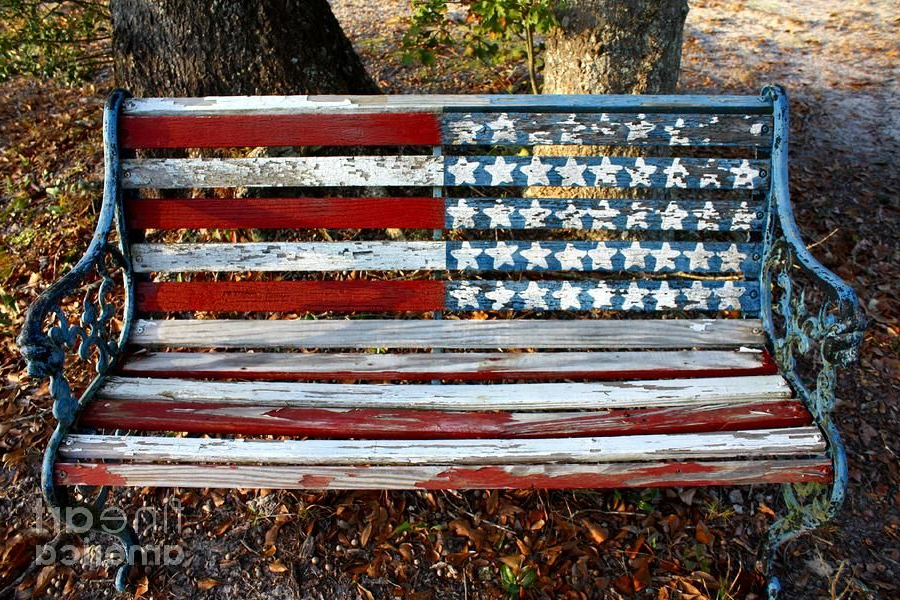Widely Used Stars And Stripes Photograph – Stars And Stripes Fine Art With Regard To American Flag Porch Swings (View 19 of 20)