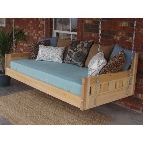 Featured Photo of Country Style Hanging Daybed Swings