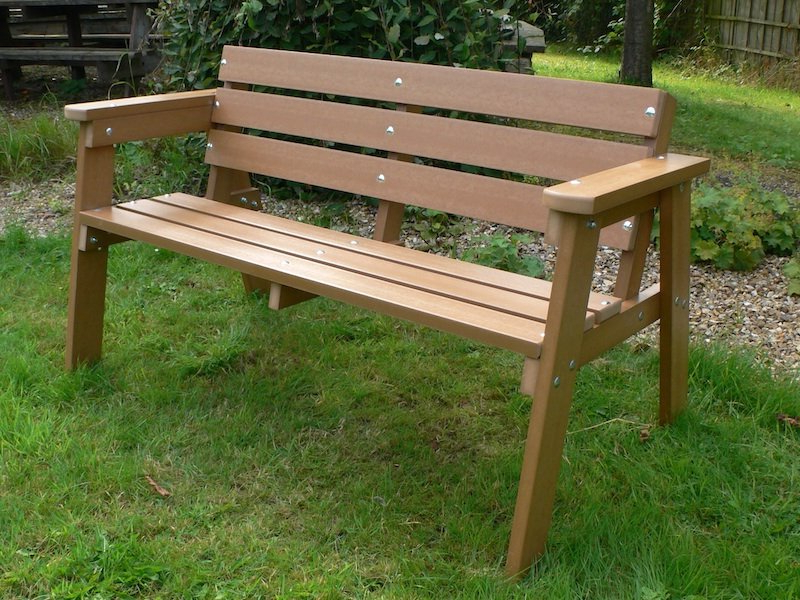Wood Garden Benches Inside Well Known Best Wooden Garden Benches : Planning To Build Wooden Garden (View 16 of 20)