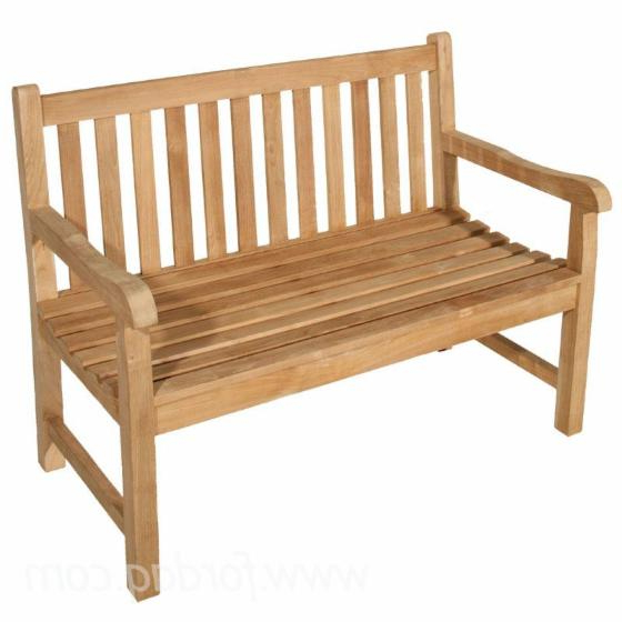 Wood Garden Benches Intended For Famous Wooden Garden Benches (View 7 of 20)