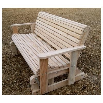 Woodworking Furniture Plans, Porch Within Most Current Rocking Love Seats Glider Swing Benches With Sturdy Frame (View 20 of 20)