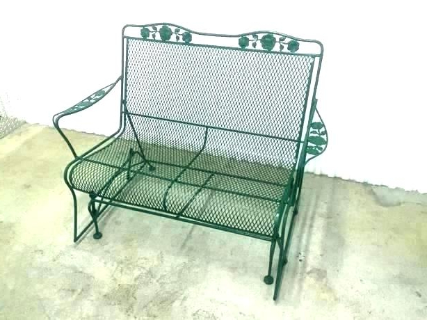 Wrought Iron Loveseat – Zahnersatz (View 19 of 20)