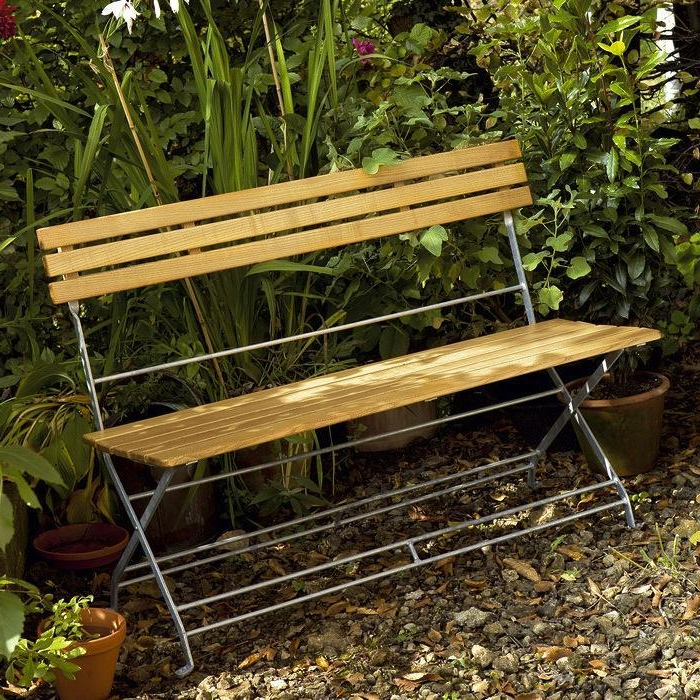 10 Easy Pieces: Romantic Benches For Two – Gardenista Within Well Known Michelle Metal Garden Benches (View 17 of 20)