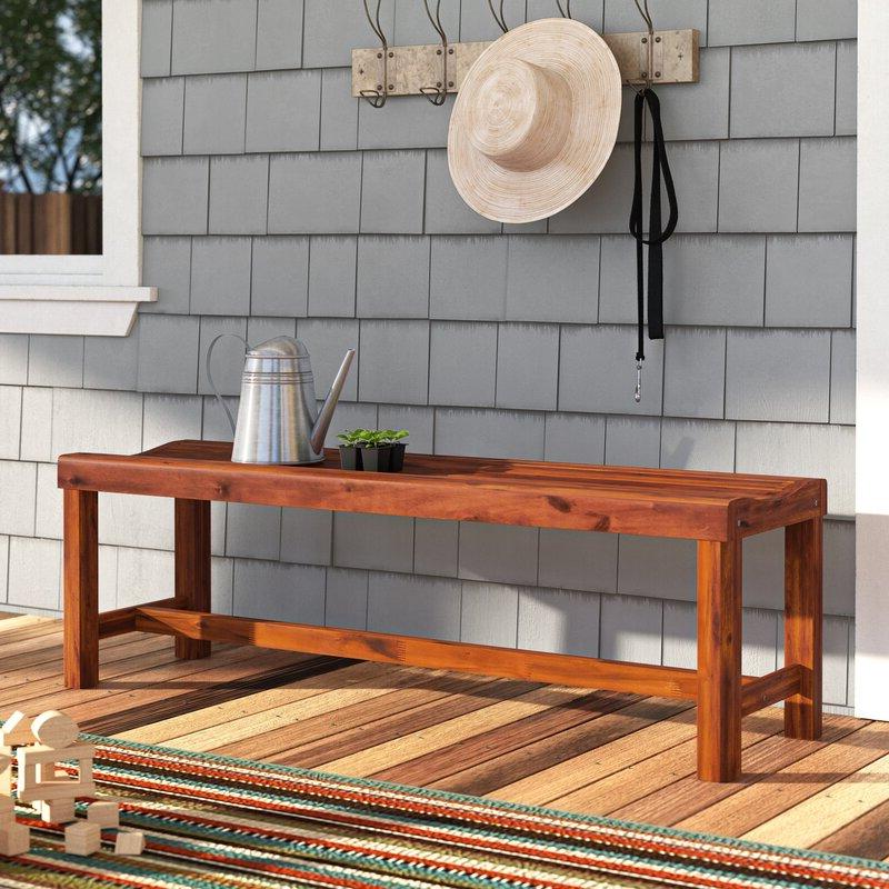 2019 Gabbert Wooden Garden Bench With Gabbert Wooden Garden Benches (View 5 of 20)