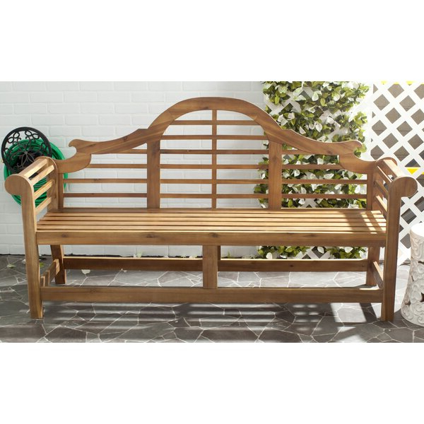 2019 Gabbert Wooden Garden Benches In Ziemer Wooden Garden Bench (View 17 of 20)